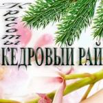 """Компания """"Кедровый Рай"""""""
